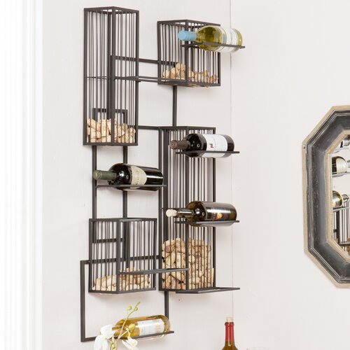 Wisegrid Wine and Cork Wall Cage