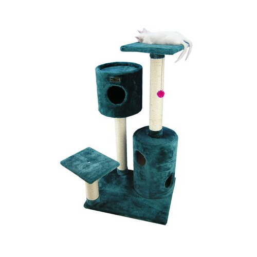 "Armarkat 43"" Classic Cat Tree in Dark Green"