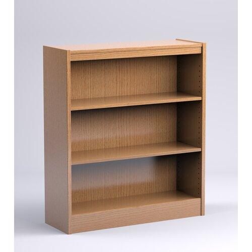 Stately Series Oak Single Face Starter Shelf Bookcase