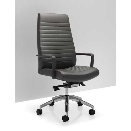 C5 High Back Leather Executive And Conference Room Chair Wayfair