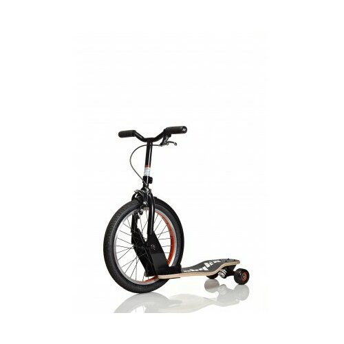 P16 Skateboard Bike Hybrid Kick Scooter