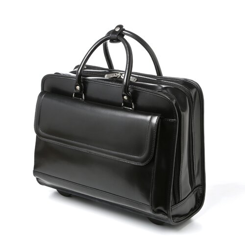 Bellino Bellino Leather Laptop Briefcase