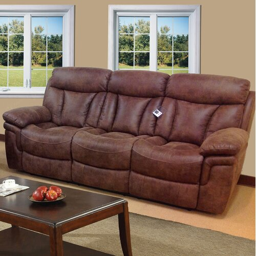 Sierra Leather Reclining Sofa
