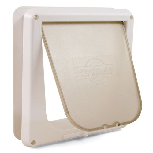 Pet Safe White Deluxe Four-Way Cat Flap