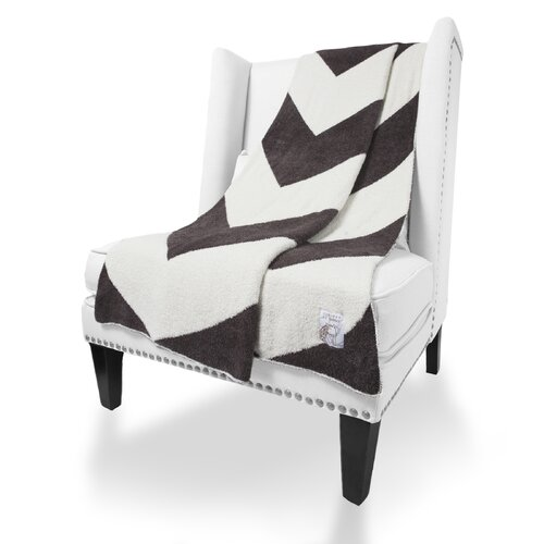Dolce Chevron Fabric Throw