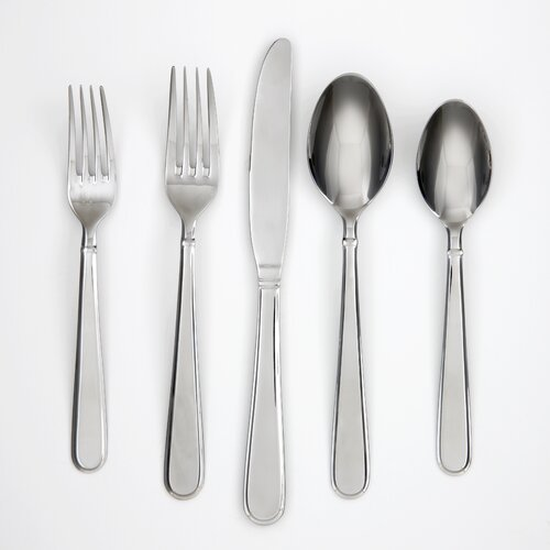 Rosalind Mirror 42 Piece Flatware Set