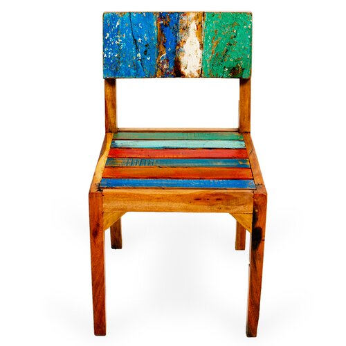 Jetstream Reclaimed Wood Side Chair