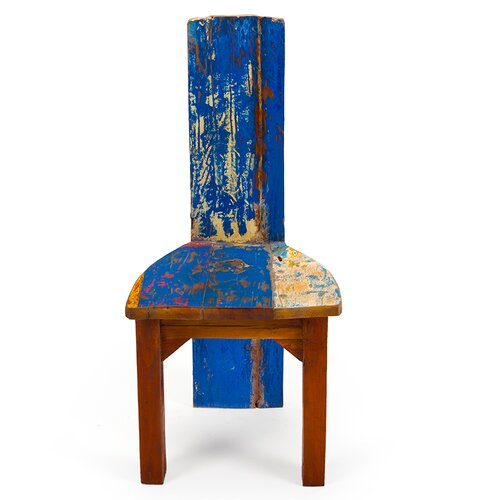 Poseidon Reclaimed Wood Side Chair