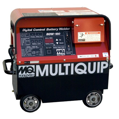 Multiquip Battery Powered Portable Welder 180A with Rechargeable Batteries