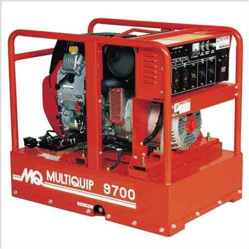 Multiquip 9700 Watt Gasoline Generator With Recoil Or