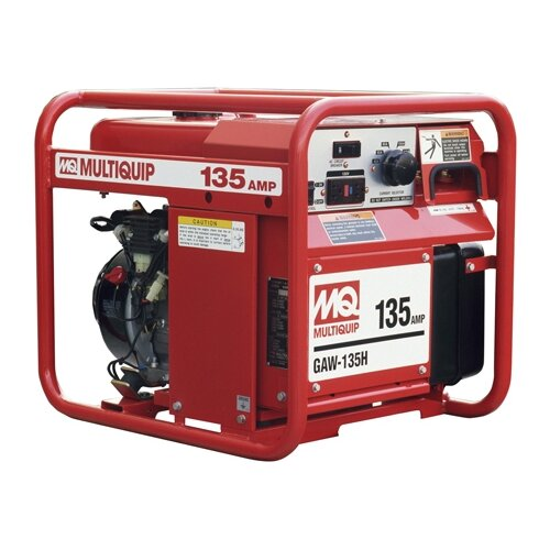Multiquip 1,500 Watt Honda  GX200 135A DC Welder / 1.5 KW Generator with Recoil Start