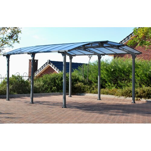 Arcadia 12 Ft W X 16 5 Ft D Car Port Wayfair Supply