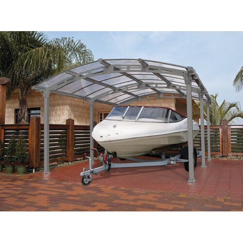 Arcadia 12 Ft W X 16 5 Ft D Car Port Wayfair