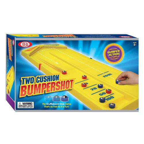 Ideal Classics Ideal Table Top Games Two Cushion Bumpershot