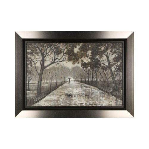 Walk in the Park by Tina O. Framed Painting Print