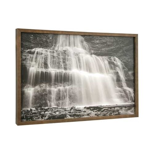 Waterfall by Stephen Tapajna Framed Photographic Print