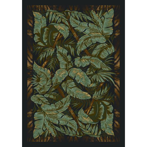 Milliken Signature Jungle Fever Ebony Rug
