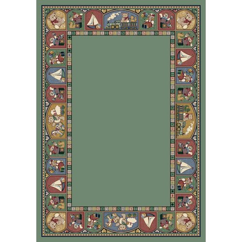 Milliken Signature Toy Parade Peridot Kids Rug