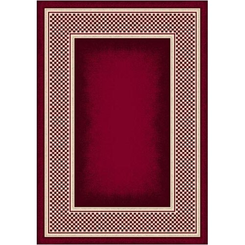Milliken Innovation Old Gingham Ruby Rug
