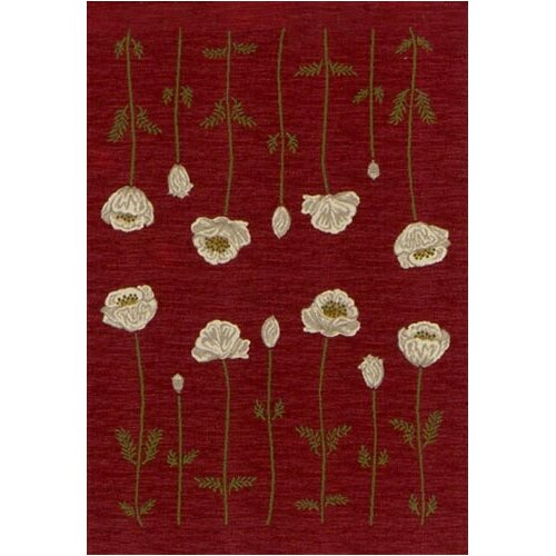 Milliken Innovation Poppy Garnet Rug
