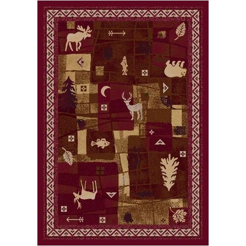 Milliken Signature Deer Trail Brick Novelty Rug