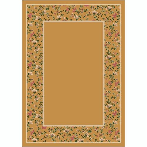 Milliken Design Center Garden Glory Golden Topaz Rug