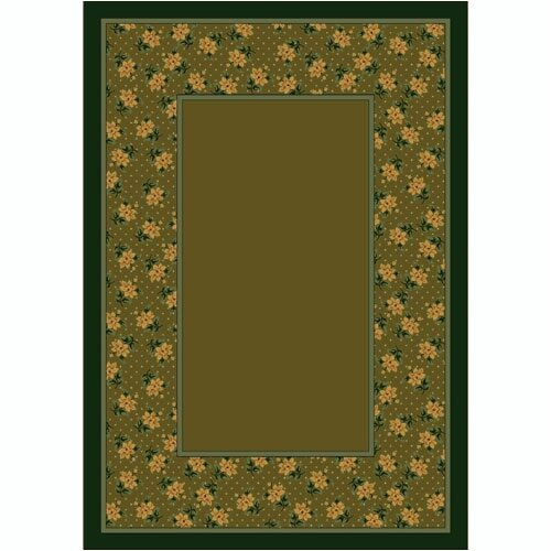 Milliken Design Center Rambling Rose Tobacco Rug