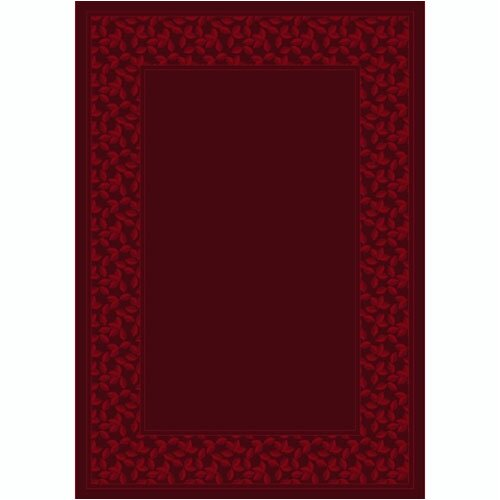 Design Center Ivy League Cranberry Rug