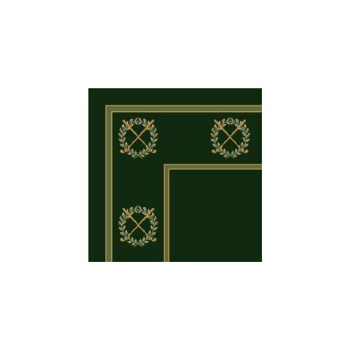 Milliken Design Center Rutherford Olive Novelty Rug