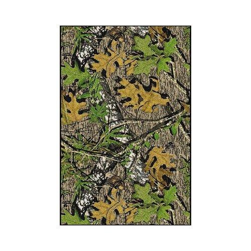 Milliken Mossy Oak Obsession Solid Camo Novelty Rug
