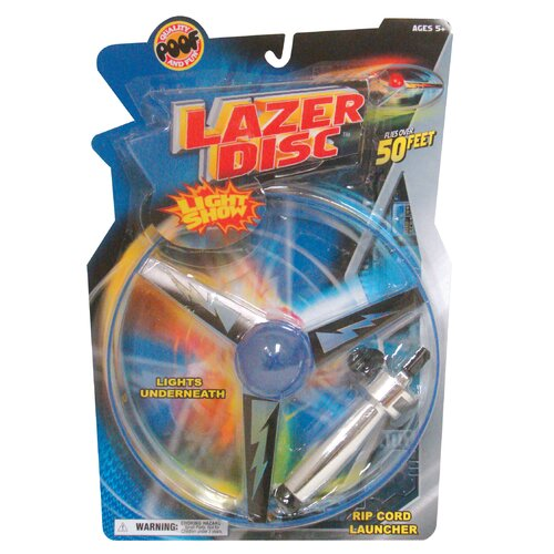 POOF Flying and Launchers Lazer Disc