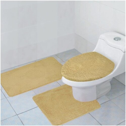 Hailey 3 Piece Bath Rug Set