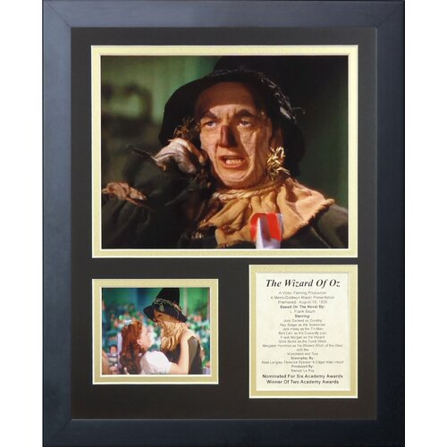 Wizard of Oz - Scarecrow Framed Photo Collage