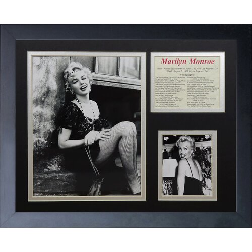 Marilyn Monroe Portrait Framed Photo Collage