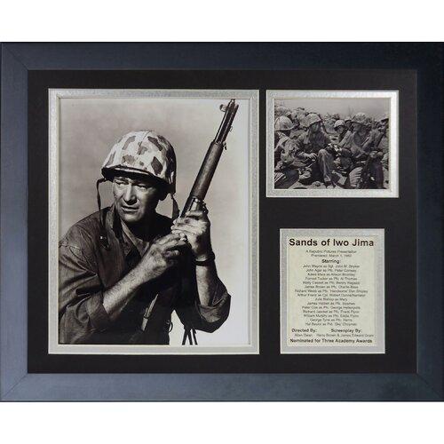 John Wayne - Iwo Jima Framed Photo Collage