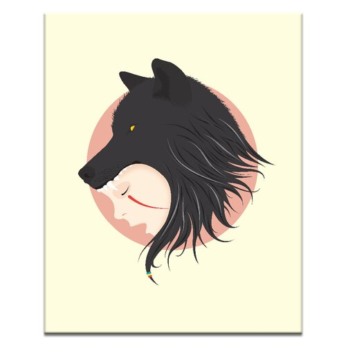 Boy Cries Wolf by Ayarti Graphic Art on Canvas