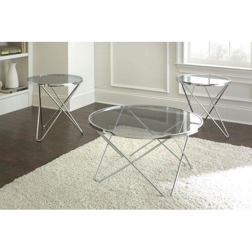 Hegewish 3 Piece Coffee Table Set (Set of 3)