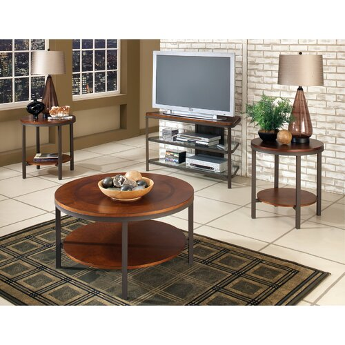 Kruger 3 Piece Coffee Table Set (Set of 3)