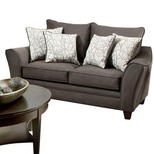 Brady Furniture Industries Bloomingdale Loveseat Reviews Wayfair