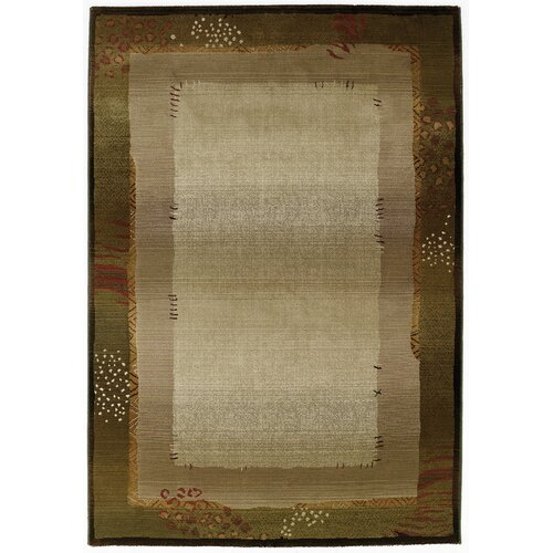 Generations Medium Green 112G Transitional Rug