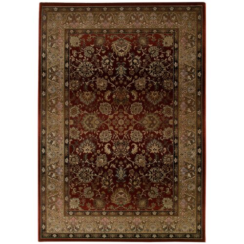 Generations Dark Red Rug