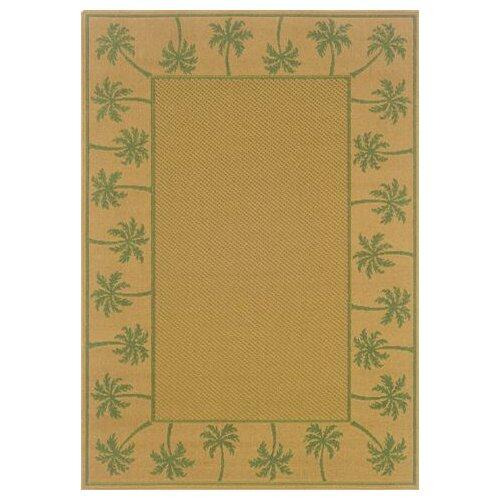 Lanai Beige/Green Outdoor Rug