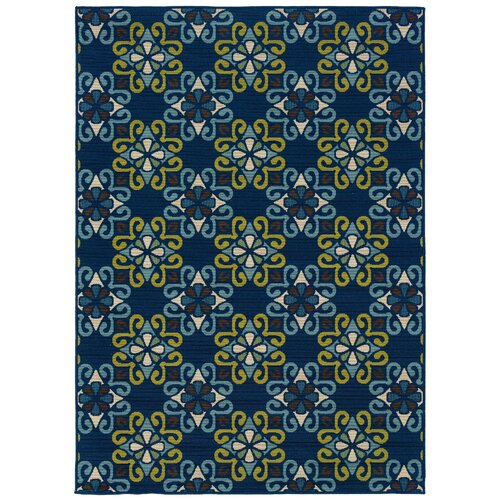 Oriental Weavers Caspian Blue/Green Indoor/Outdoor Rug