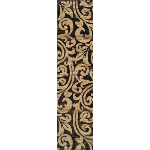 Oriental Weavers Emerson Black/Gold Rug