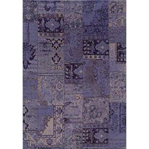 Oriental Weavers Revival Purple/Gray Persian Rug