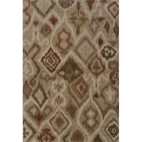 Oriental Weavers Adrienne Beige/Orange Tribal Rug