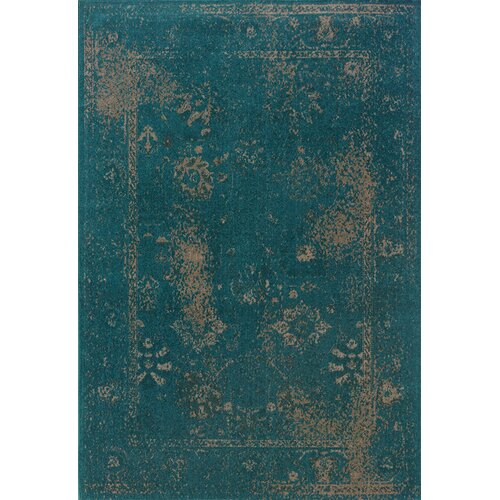 Oriental Weavers Revival Teal/Beige Area Rug