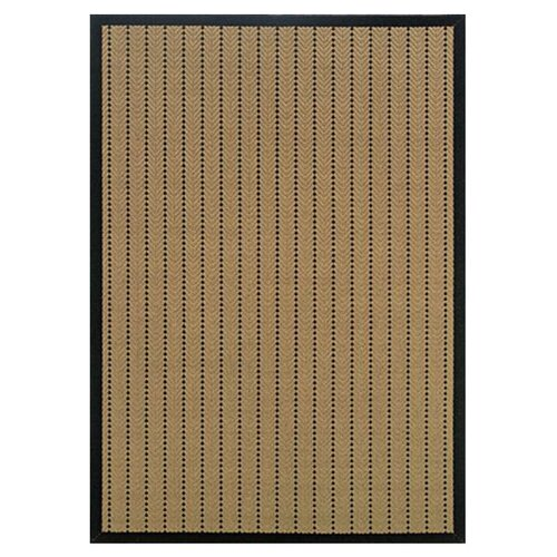 Oriental Weavers Lanai Beige/Black Striped Outdoor Rug