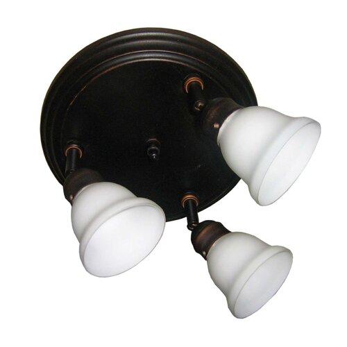 Odette 3 Light Pan Light