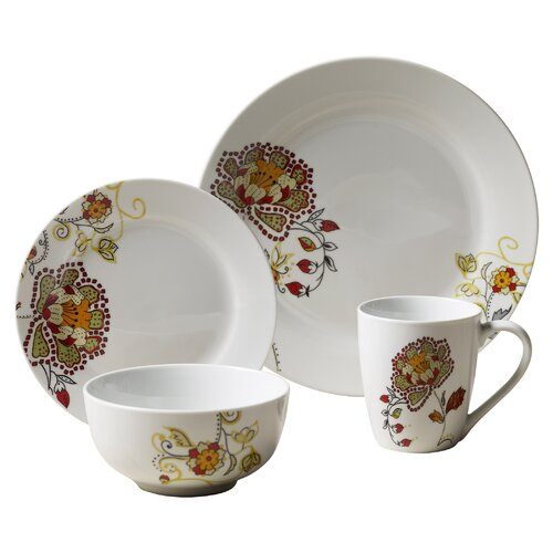 Avalon 16 Piece Dinnerware Set